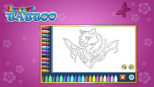 Coloring Book Tattoo 1.8.0 screenshots 7