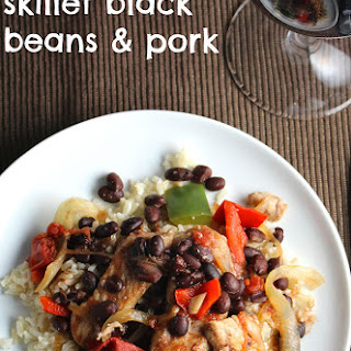 Skillet Black Beans and Pork