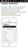 Screenshot of x4Fire