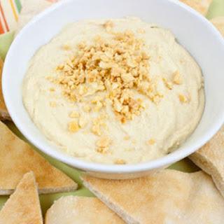 Peanut Buttery Hummus (No Tahini)