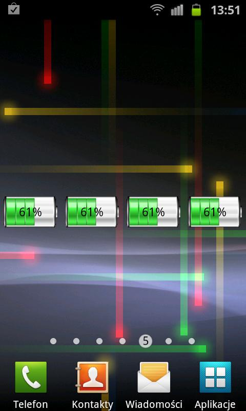 Nice Battery Widget - screenshot