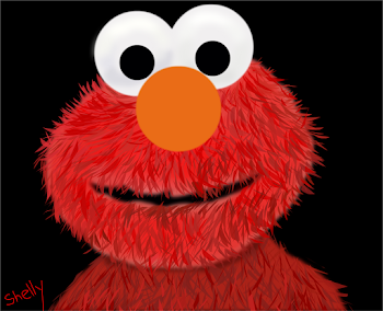 Elmo Grew His Fur Back