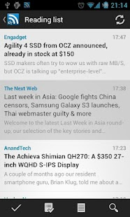 D7 Reader Pro (RSS | News) - screenshot thumbnail