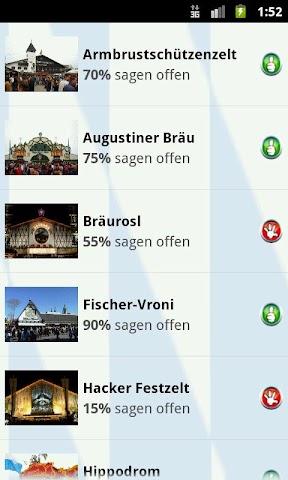 Screenshot 1 Oktoberfest München