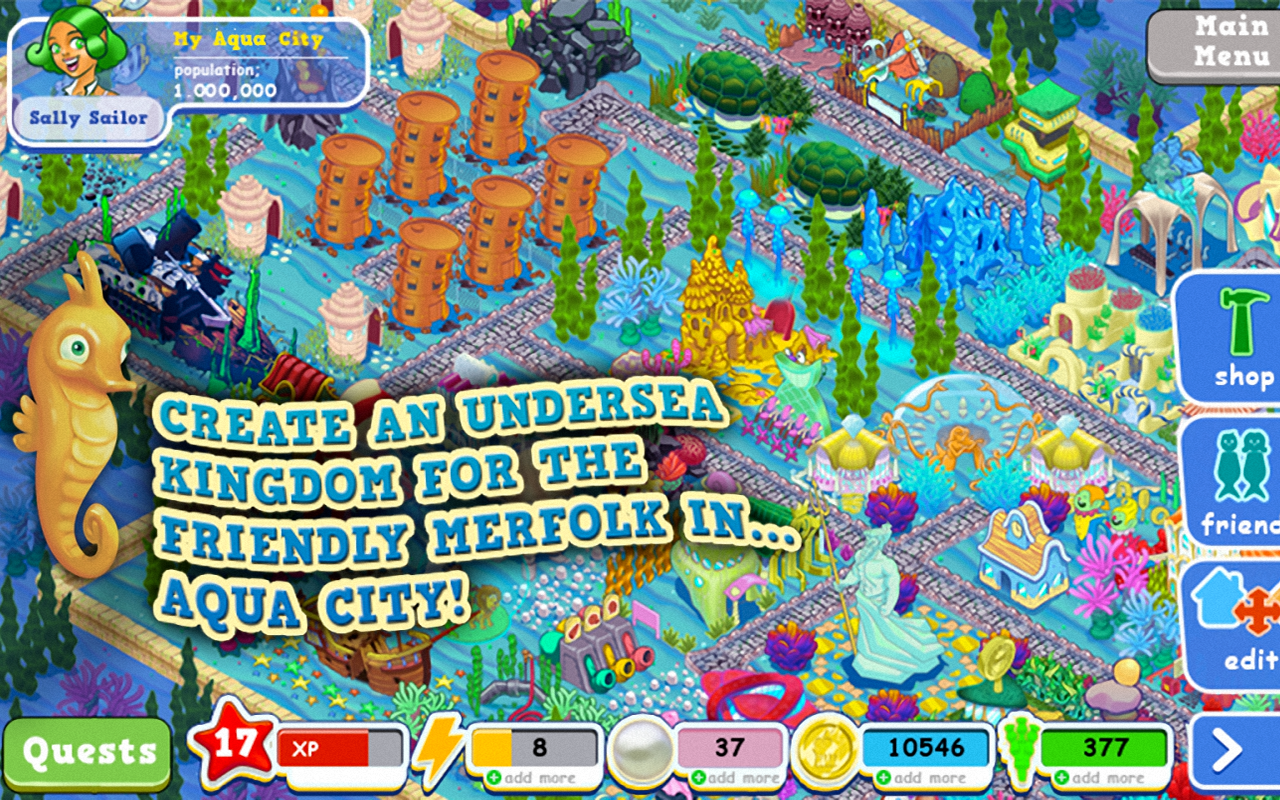 Aqua City: Fish Empires- screenshot