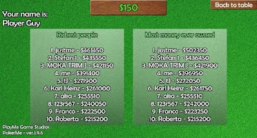 Screenshot of Poker Online FREE