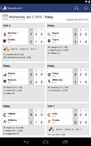 android MLB.com At Bat Screenshot 5