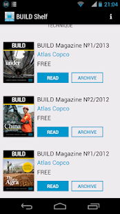 BUILD Magazine - screenshot thumbnail
