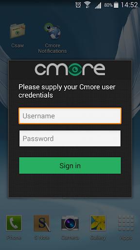 Cmore Adapter