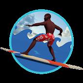 African Tsunami Surfer