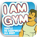 I AM GYM PRO  All body workout icon