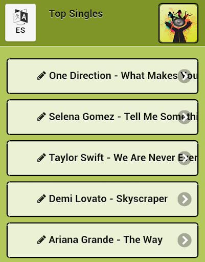 Top singles