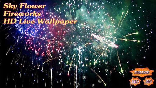 玩個人化App|Sky Flower Fireworks HD免費|APP試玩