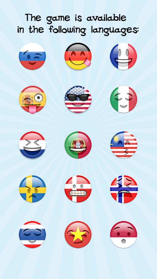 EmojiNation - emoticon game - screenshot