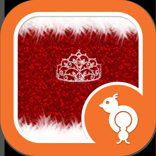 Diva Christmas GO SMS Theme 個人化 App LOGO-APP開箱王