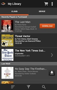 Audiobooks from Audible Screenshot 17