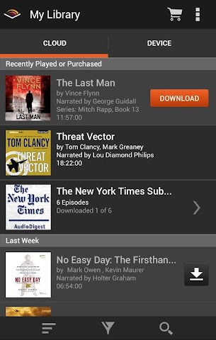 android Audiobooks from Audible Screenshot 3