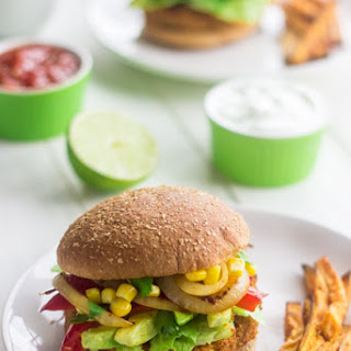 Southwestern Sweet Potato Veggie Burgers