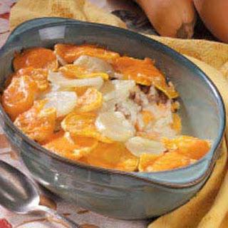 Potato Squash Casserole.