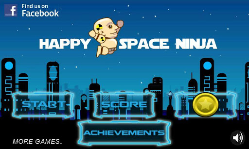 Happy Space Ninja Runner