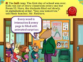 Screenshot of Arthur's Teacher Trouble