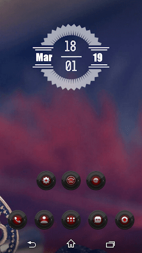 Red Searchlight Icon Pack