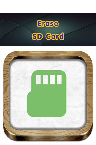 Erase SD Card
