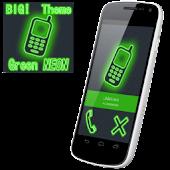 BIG! caller ID Theme NeonGreen
