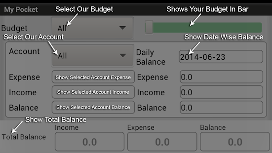 My Pocket - Expense Manager- screenshot thumbnail
