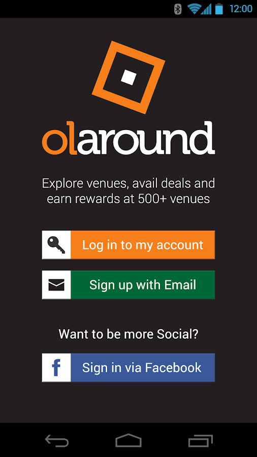 Olaround- screenshot