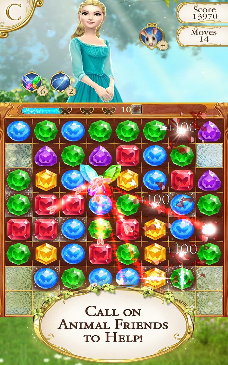 Cinderella Free Fall screenshot #3