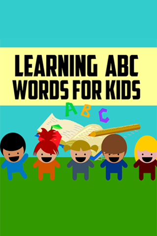 Learning ABC Words For Kids