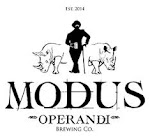 Logo for Modas Operandi Brewing Company