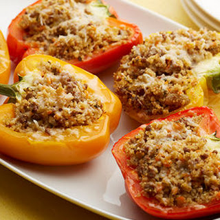 Sweet and Sour Couscous-Stuffed Peppers.