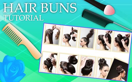 Basic Hair Buns Tutorials