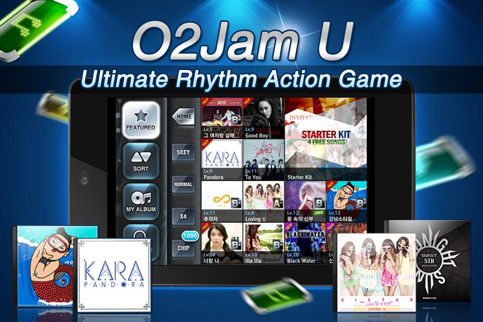 O2Jam U - screenshot