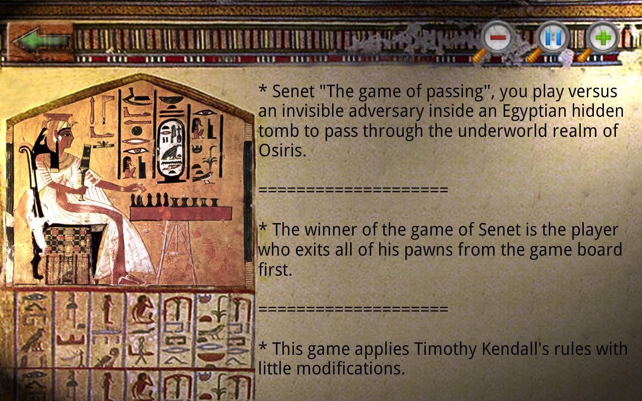 Egyptian Senet (Ancient Egypt) - screenshot