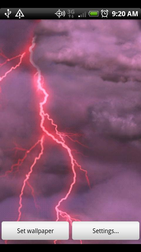 Wallpapers Free Wallpapers Thunderstorm Free Wallpaper