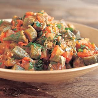 Spicy Okra Stew.