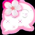 GO SMS - Cherry Blossoms icon