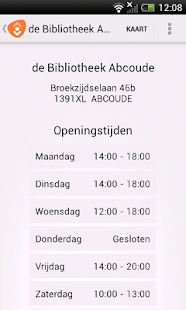 de Bibliotheek - screenshot thumbnail