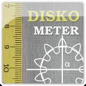 Diskometer - camera measure icon