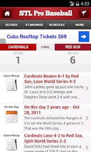 St. Louis Pro Baseball - screenshot thumbnail