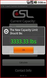 CSL Load Center Estimator - screenshot thumbnail