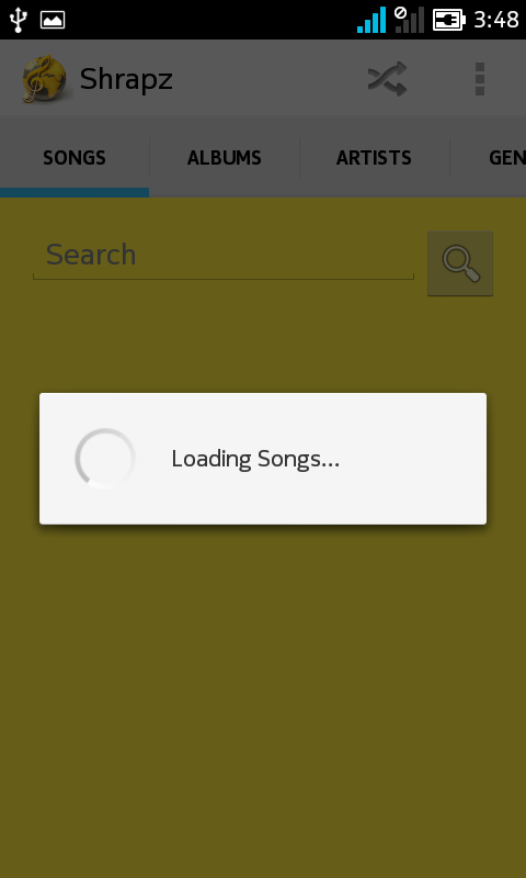 Shrapz Music Player- screenshot