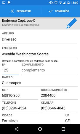 CepLive-O - Brazil address v0.1L screenshot 2024339