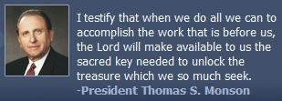 教会主席,托马斯·莫森的照片和报价。