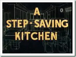 stepsaving kitchen