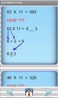Screenshot of Cool Maths Tricks