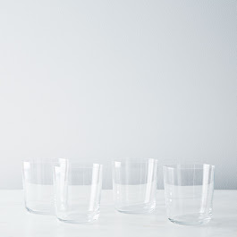 Glass Tumblers (Set of 4)